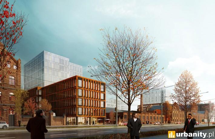Projekt kompleksu Monopolis w Łodzi