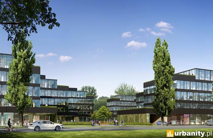 Kompleks budynków biurowych Neopark w Warszawie