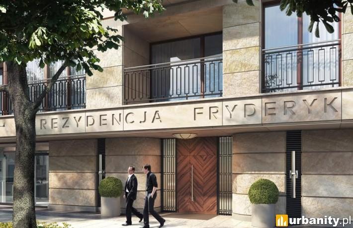Projekt Rezydencji Fryderyk na Mokotowie