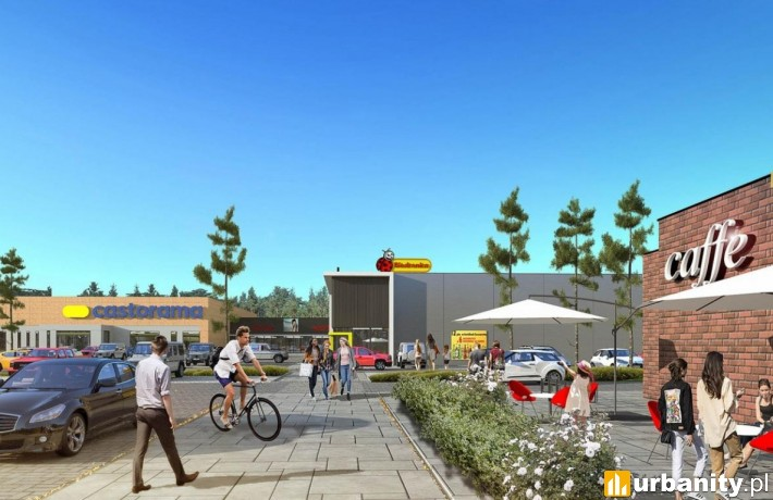 W Świnoujściu powstaje nowoczesne centrum handlowe przy ulicy Wojska Polskiego
