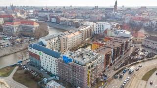 Realizacja inwestycji Przy ulicy Jagiełły 6 we Wrocławiu