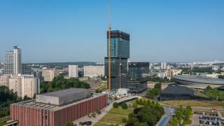 Postępuje realizacja wieżowca .KTW II (fot. TDJ Estate)