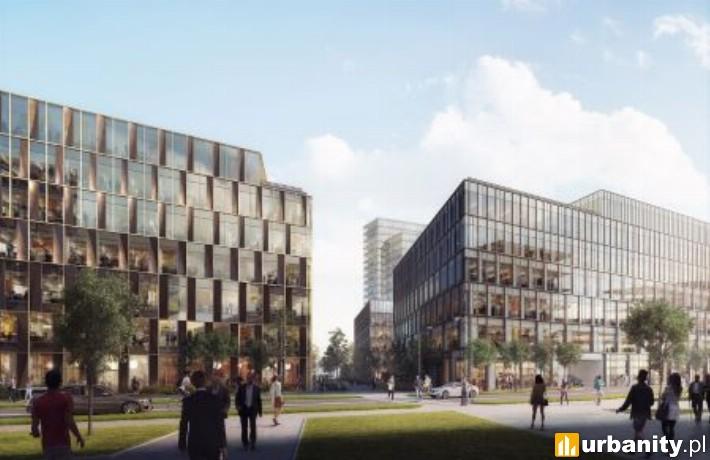 Wizualizacja inwestycji Nowy Rynek w Poznaniu
