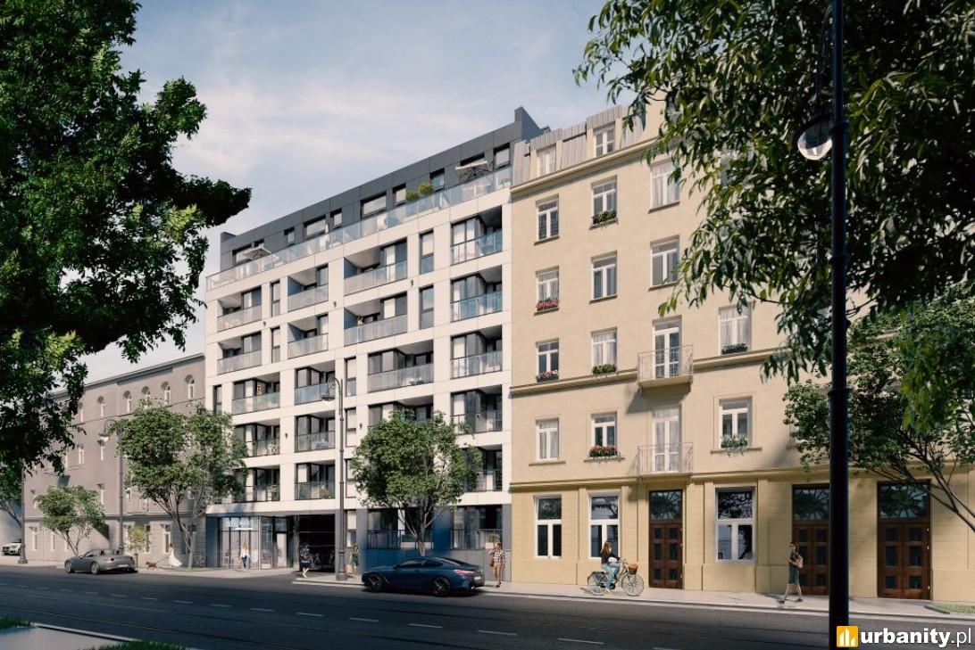 Koniec prac konstrukcyjnych na budowie kamienicy przy Stalowej