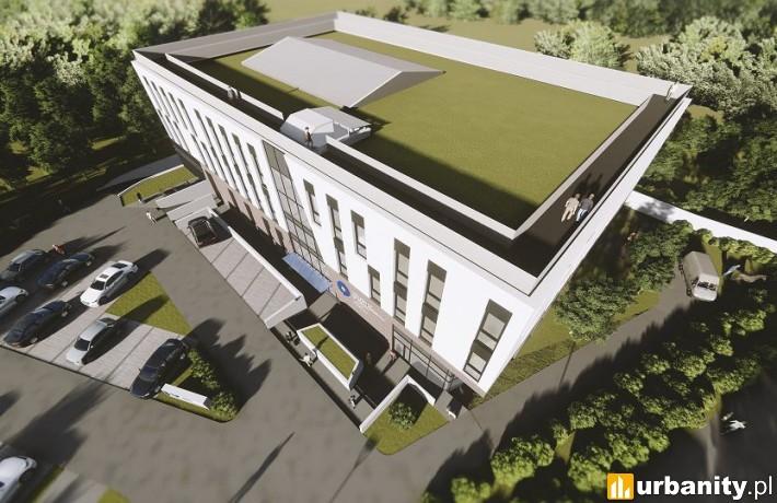 Centrum Medycyny Weterynaryjnej w Toruniu - wizualizacja