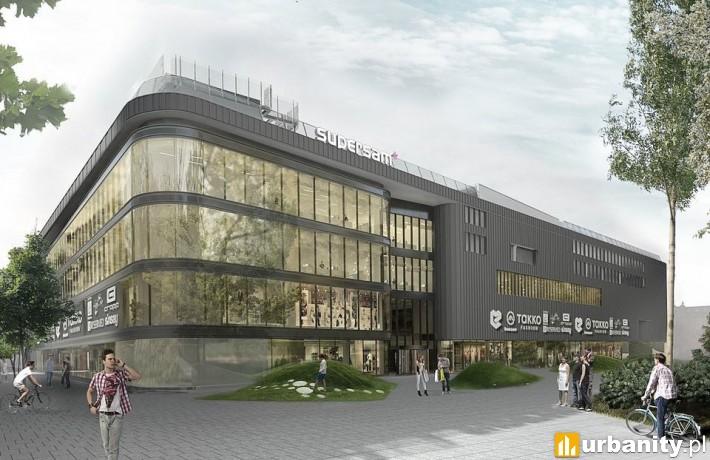 Wizualizacja Domu Handlowego Supersam w Katowicach