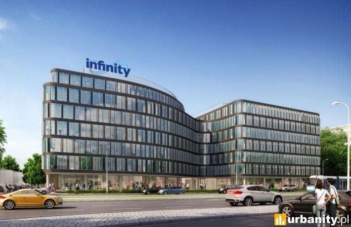 Biurowiec Infinity we Wrocławiu - wizualizacja
