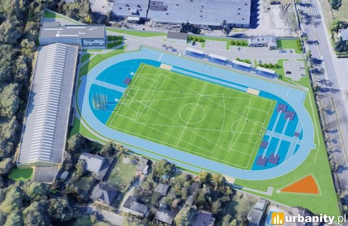 Nowe boisko lekkoatletyczne Rudzkiego Klubu Sportowego