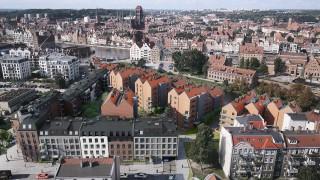 Gdańskie osiedle Riverview - projekt
