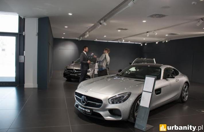 Otwarto salon samochodowy marki Mercedes-Benz we Wrocławiu