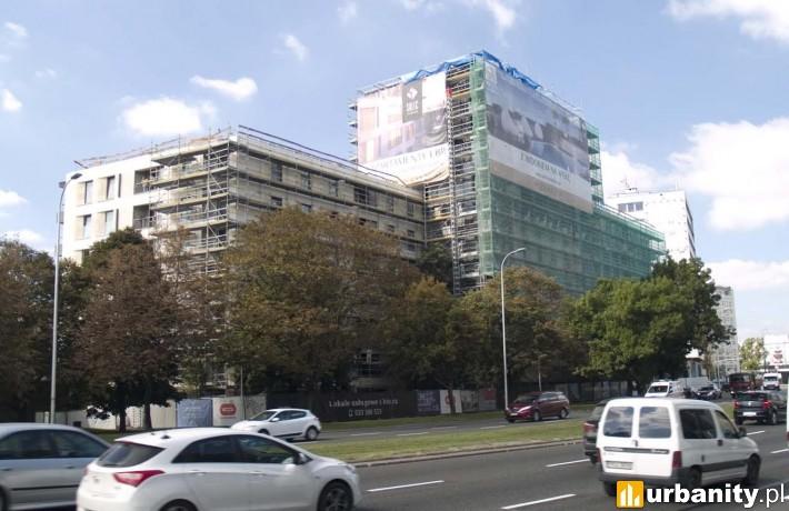 Tak obecnie wygląda kompleks Solec Residence w Warszawie