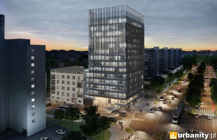 Projekt biurowca Wielka 27 we Wrocławiu