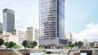 Rusza realizacja biurowca nadwieszonego nad stacją metra