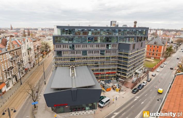 Końcowe prace przy inwestycji Modern Office w Bydgoszczy