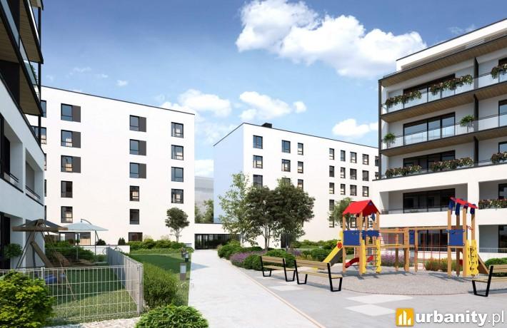Wizualizacja osiedla Atal w Warszawie