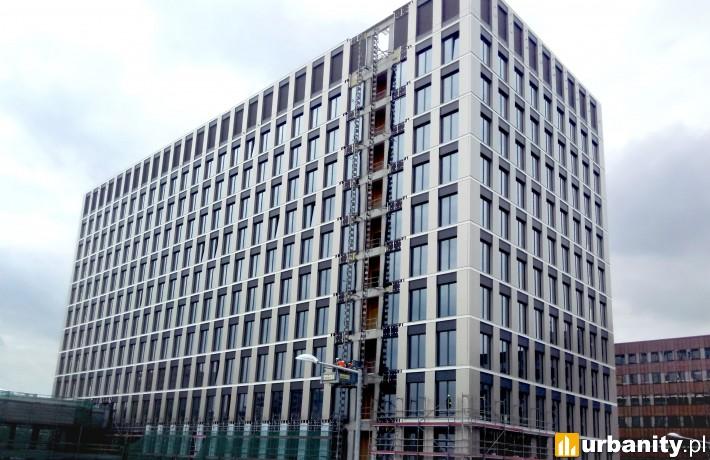 Powstający kolejny budynek kompleksu Podium Park