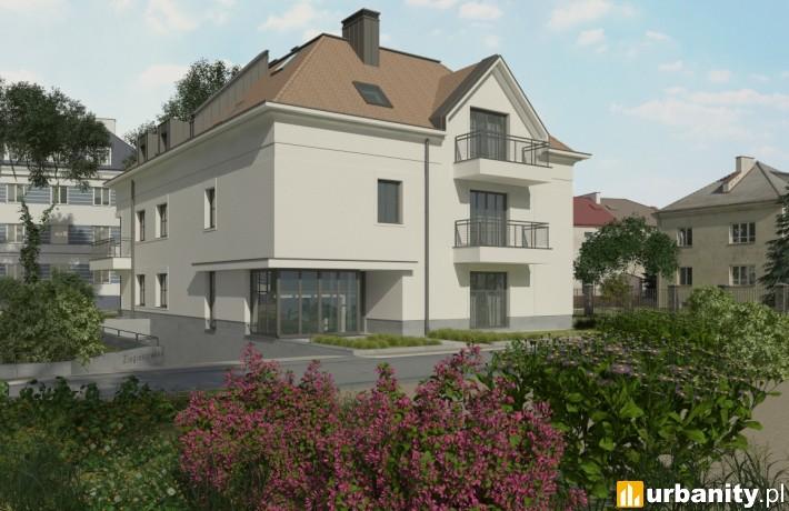 Projekt inwestycji Villa Sadyba