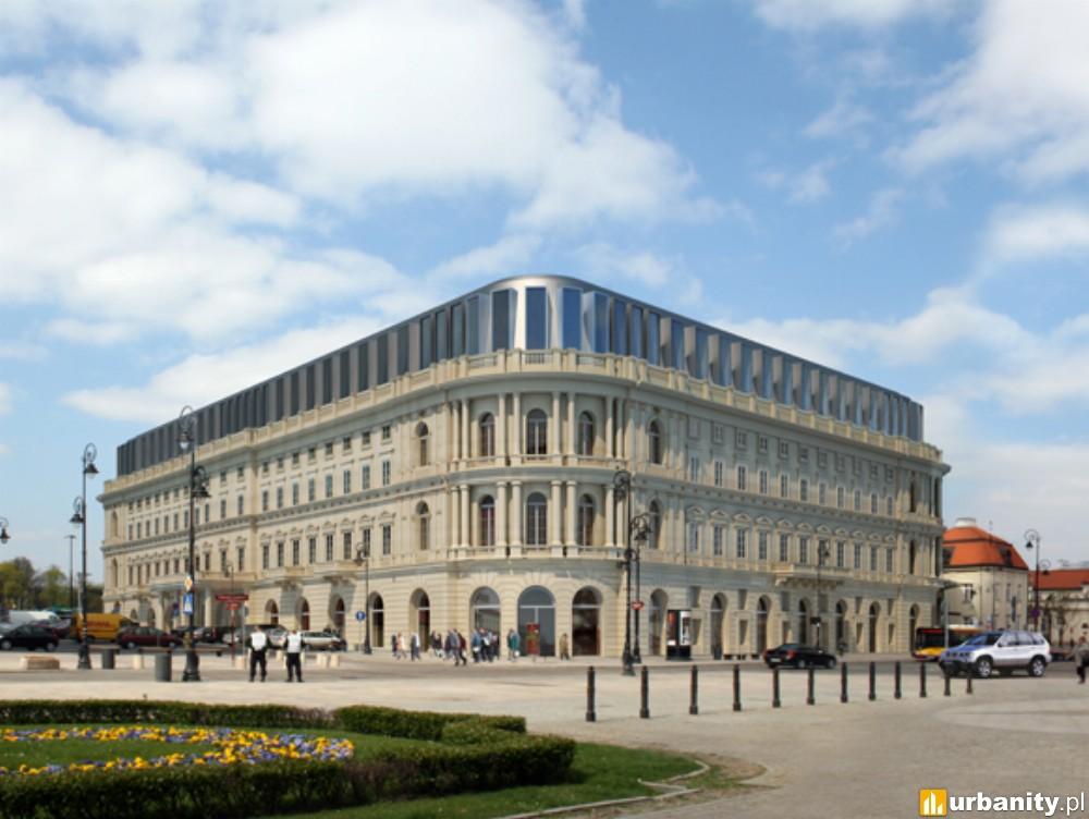 Zakończyła się przebudowa dawnego hotelu Europejskiego w Warszawie