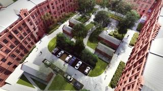 Ogrodowa 28 w Łodzi - wizualizacja