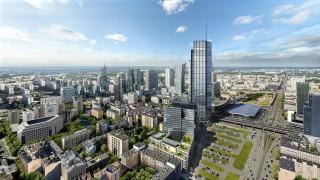 Wizualizacja najwyższego wieżowca w Unii Europejskiej