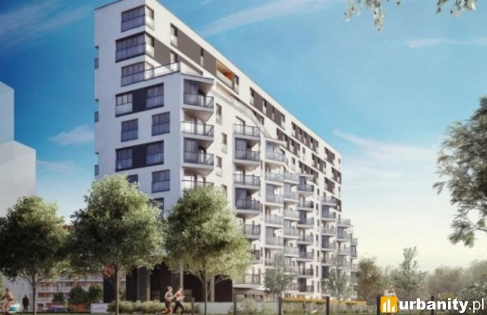 Osiedle Apartamenty Mokotów nad Skarpą - wizualizacja