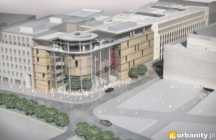 Projekt nowej siedziby Urzędu Marszałkowskiego i Lubelskiego Centrum Konferencyjnego