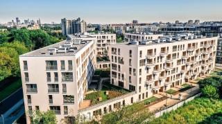 Część mieszkalna inwestycji Moje Miejsce w Warszawie