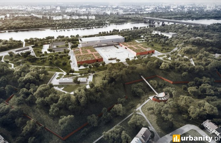 Muzeum Historii Polski - wizualizacja