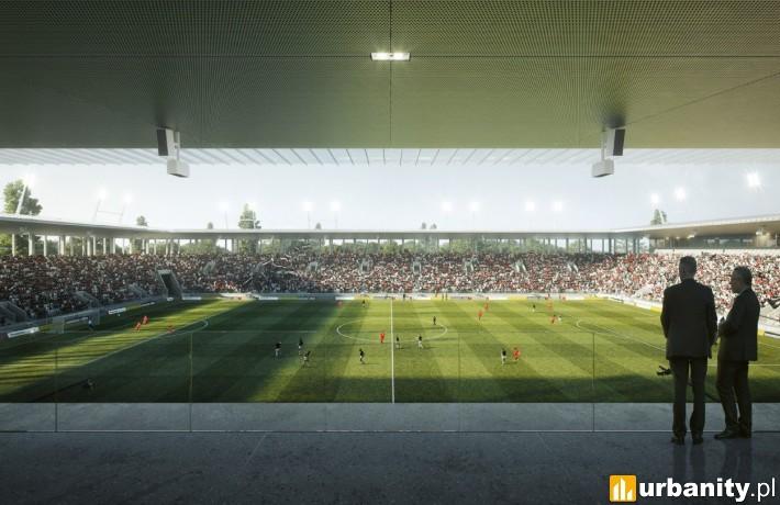 Tak wyglądał będzie nowy stadion Polonii Warszawa