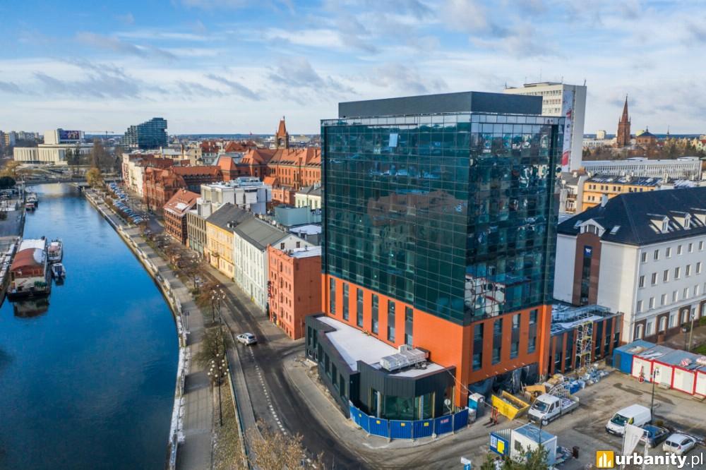 Coraz bliżej 3-gwiazdkowego hotelu nad rzeką Brdą w Bydgoszczy