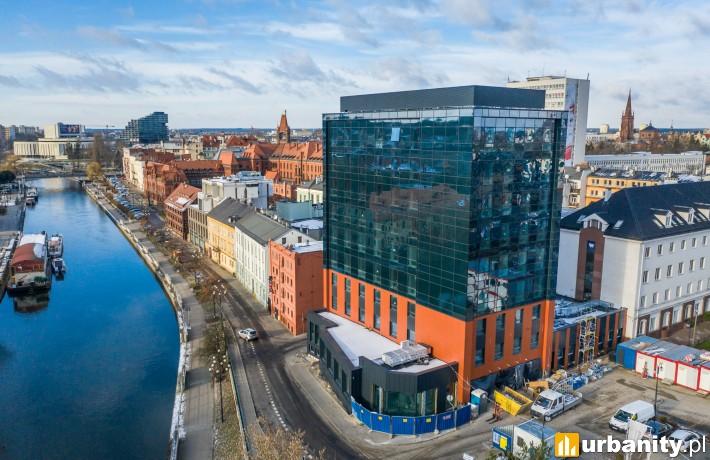 Focus Hotels w Bydgoszczy - styczeń 2021 r (fot. CDI Konsultanci Budowlani)