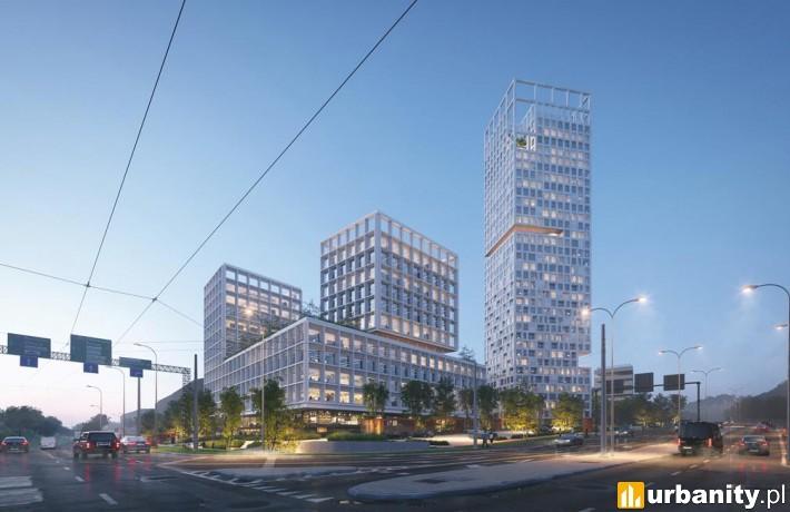 Projekt kompleksu przy Kieleckiej w Gdyni
