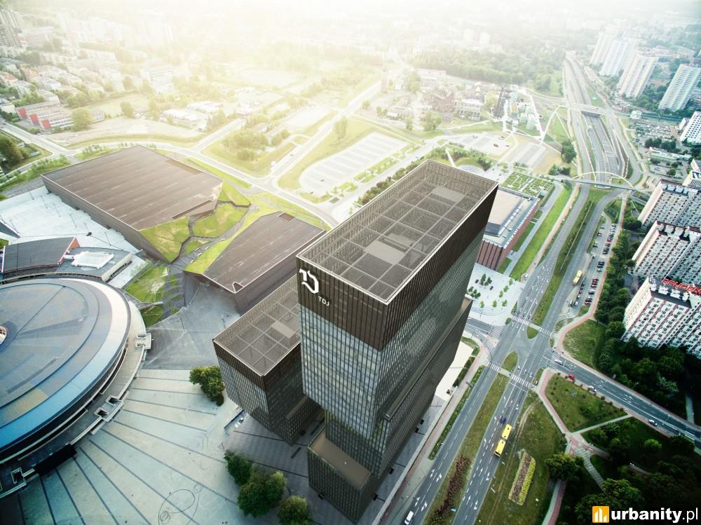 Rusza budowa ponad 130-metrowego wieżowca w centrum Katowic