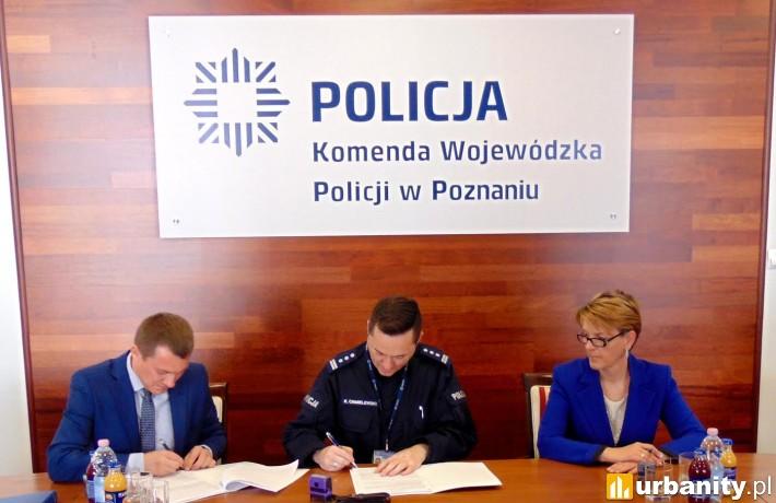 Podpisanie umowy na wykonanie remontu Komisariatu Policji