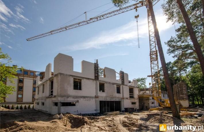 Obecny stan budowy kompleksu Rezydencja Park Rodzinna