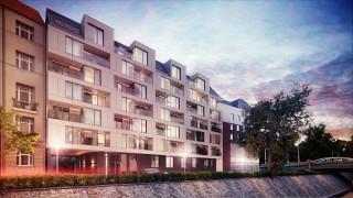 Wizualizacja Apartamentowca Zyndrama we Wrocławiu