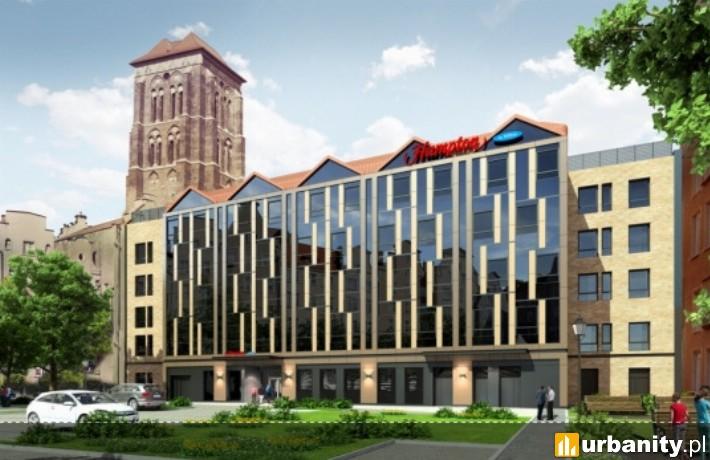 Hotel Hampton by Hilton Gdansk Old Town - wizualizacja