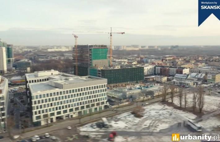 Nowy Rynek w Poznaniu - postęp prac