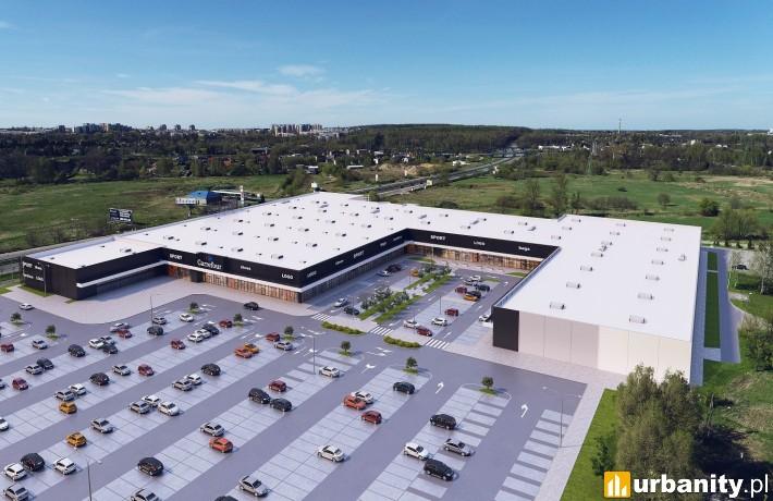 Projekt nowego parku handlowego w Częstochowie