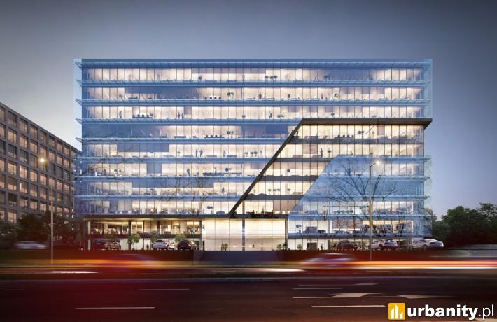 Tischnera Office w Krakowie - projekt