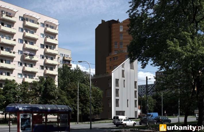 Projekt budynku Villa Almerico w Warszawie