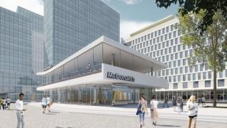 Projekt przebudowy pawilonu na potrzeby restauracji McDonald's