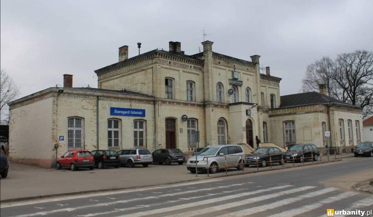 Strabag przebuduje dworzec kolejowy w Starogardzie Gdańskim