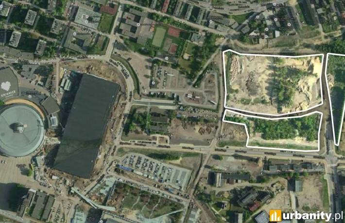 Teren, na którym powstanie osiedle firmy TDJ Estate