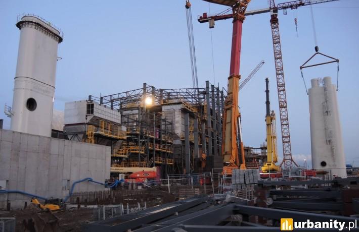 Trwa budowa spalarni odpadów w Szczecinie