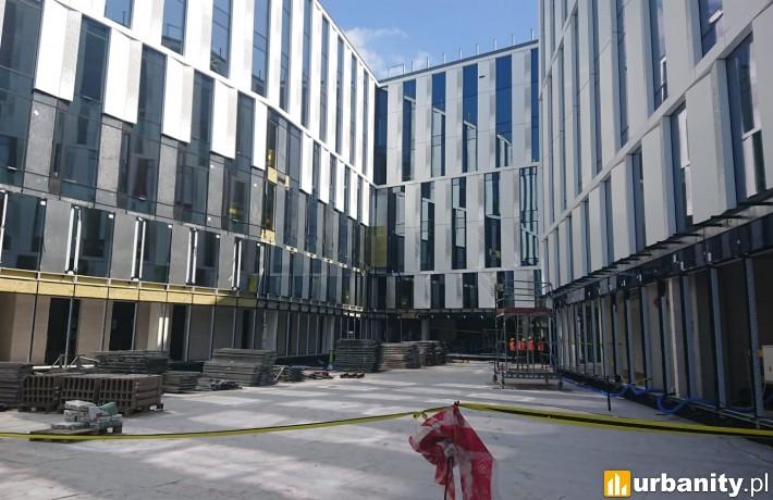 Powstający biurowiec V.Offices w Krakowie