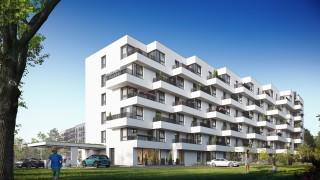 Projekt inwestycji Alinea w Warszawie