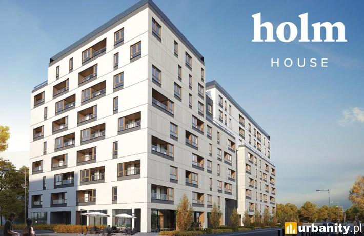 Projekt obiektu Holm House w Warszawie
