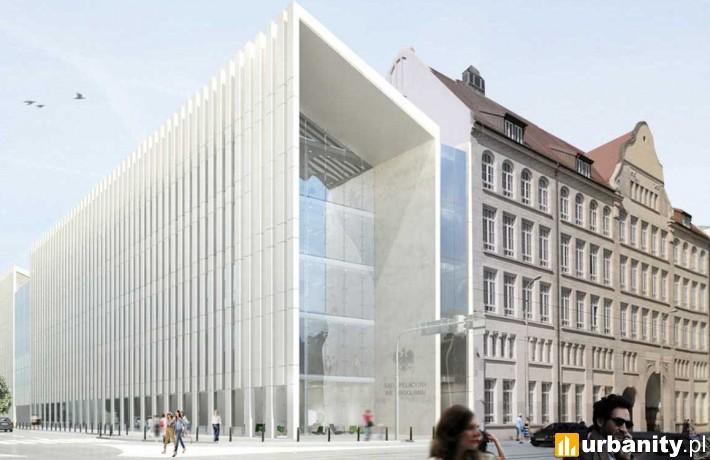 Koncepcja nowej siedziby Sądu Apelacyjnego we Wrocławiu