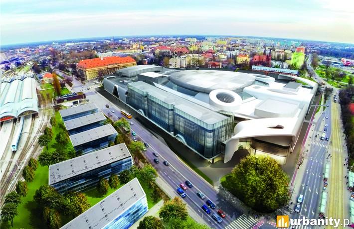 Wizualizacja kompleksu Wroclavia